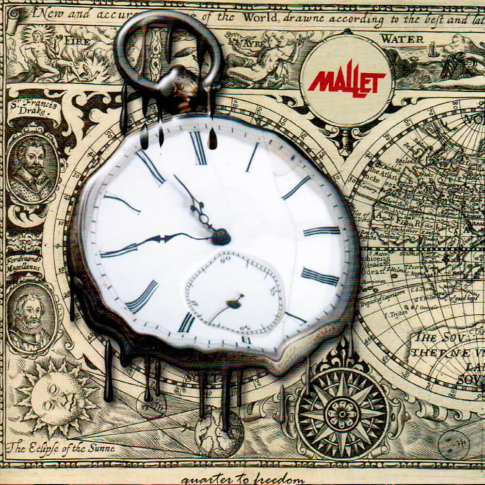 """10. Album """"Quarter to freedom"""" Studioalbum."""