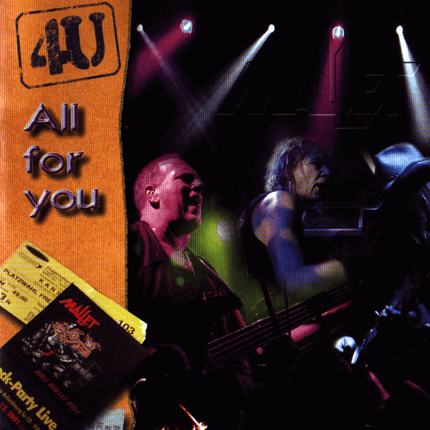 "Live DVD mit dem Titel ""All For you"""