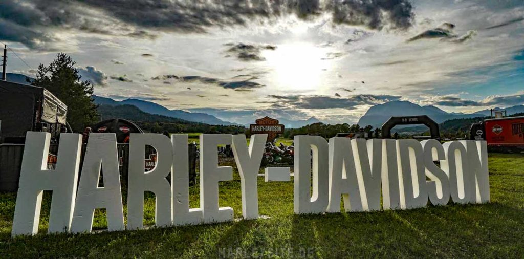 4 Tage Harley-Davidson Treffen am Faaker See